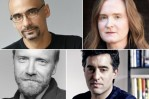 Clockwise from top left, Junot Díaz, Amber Dermont, Nathan Englander, George Saunders