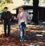 Kurt Cobain with William Burroughs