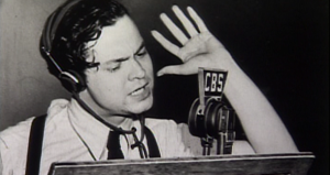 Orson Welles and The War of The Worlds